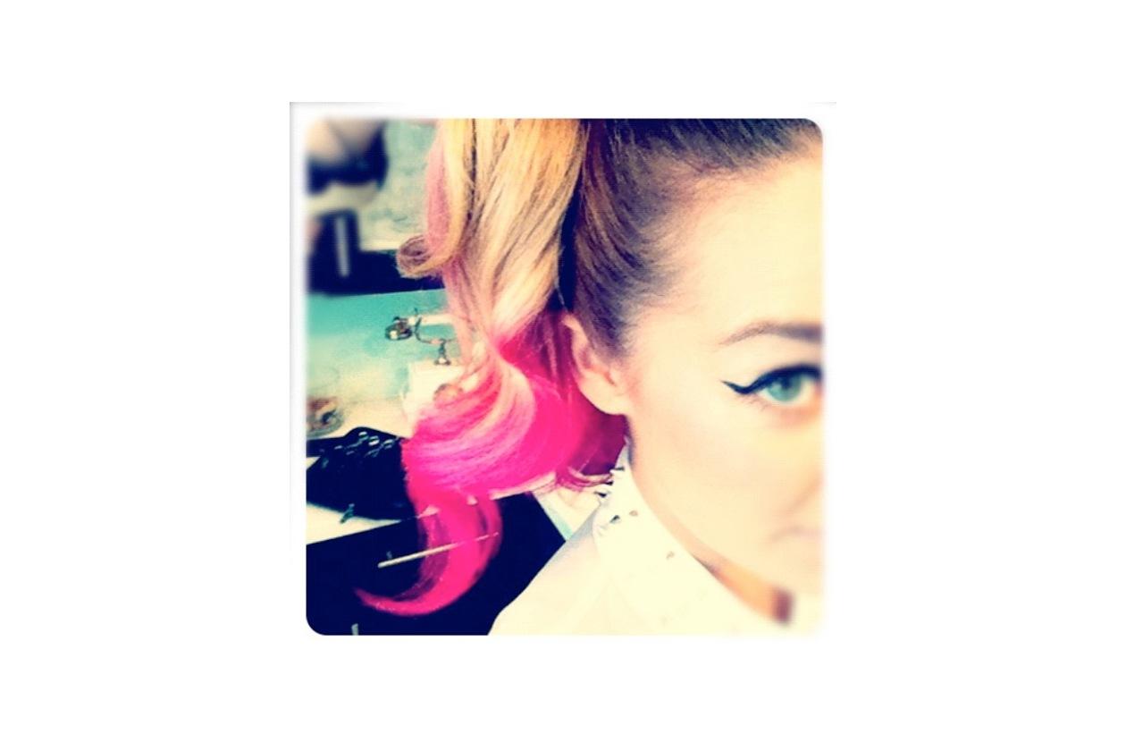 Capelli rosa: Lauren Conrad