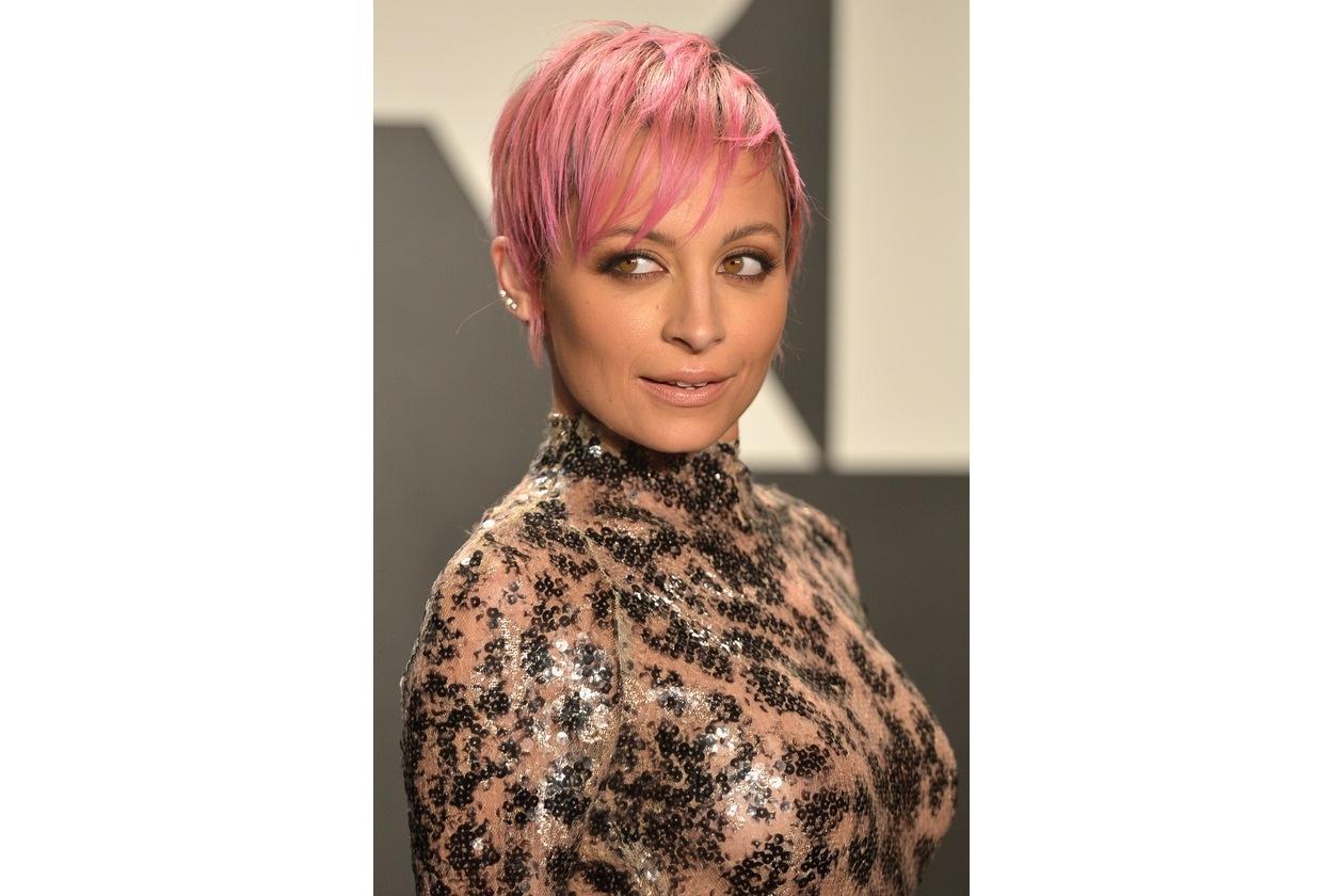 Capelli rosa: Nicole Richie
