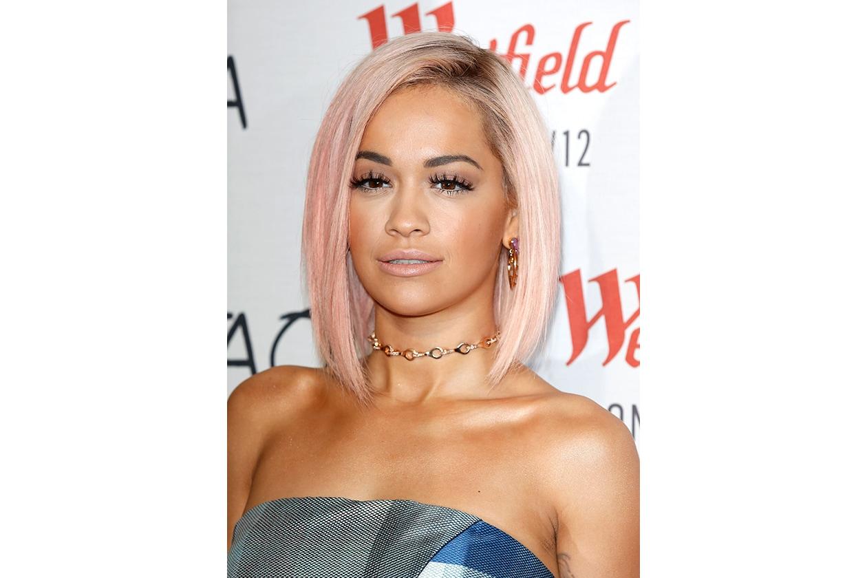 Capelli rosa: Rita Ora