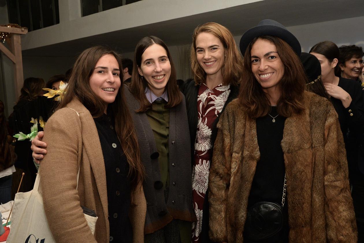 Cecilia Bringheli, Enrica Ponzellini, JJ Martin, Viviana Volpicella