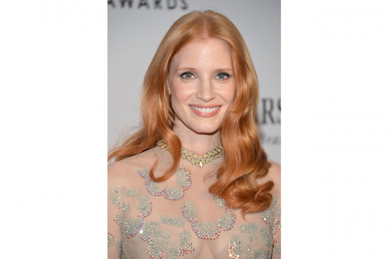 Chastain 66th Annual Tony Awards at the Beacon Theatre on June 2012 in New York City