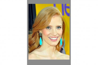 Chastain BEVERLY HILLS, CA AUGUST 09 Actress Jessica Chastain attends the premiere of DreamWorks Pictures The Help