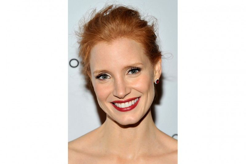 Chastain NEW YORK, NY JANUARY 10 Jessica Chastain attends the 2011 National Board of Review Awards gala at Cipriani 42nd Street on January 10 2012 in New York City