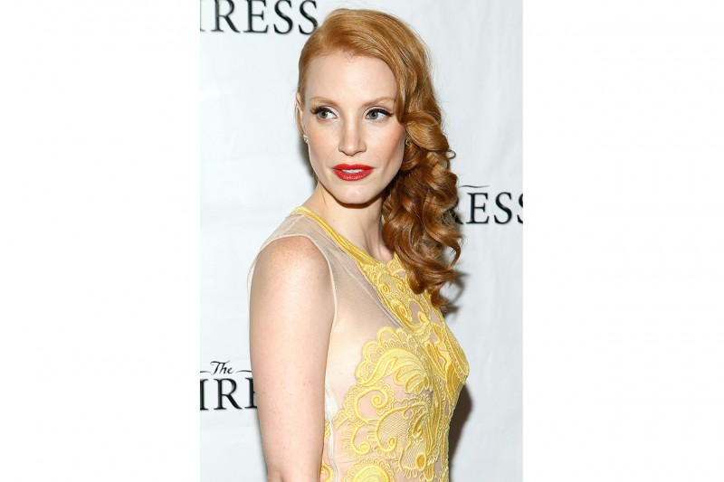 Chastain NY party following the Broadway revival opening night of The Heiress at The Edison Ballroom on November 2012
