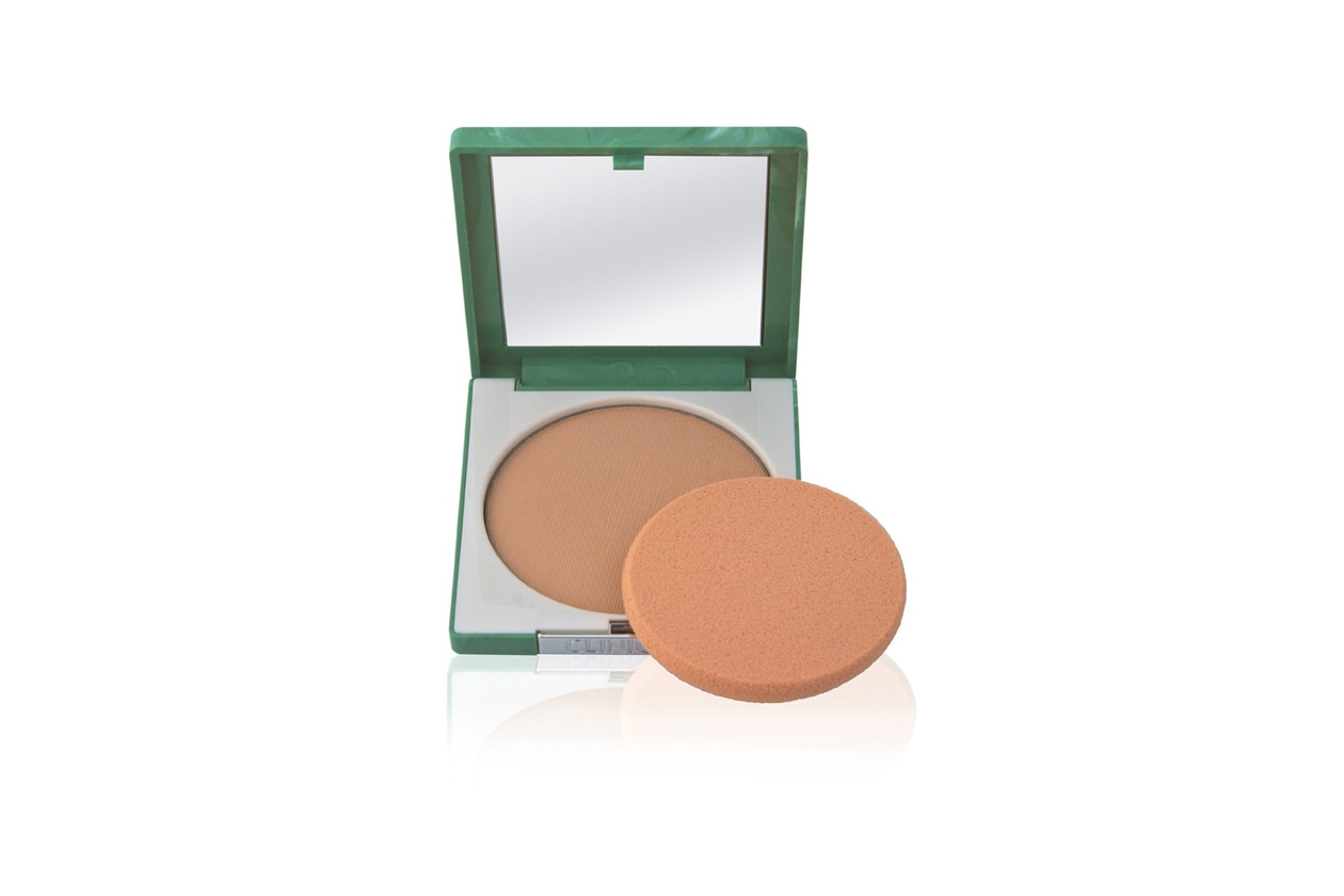 Ciprie viso: Clinique Stay-Matte Sheer Pressed Powder