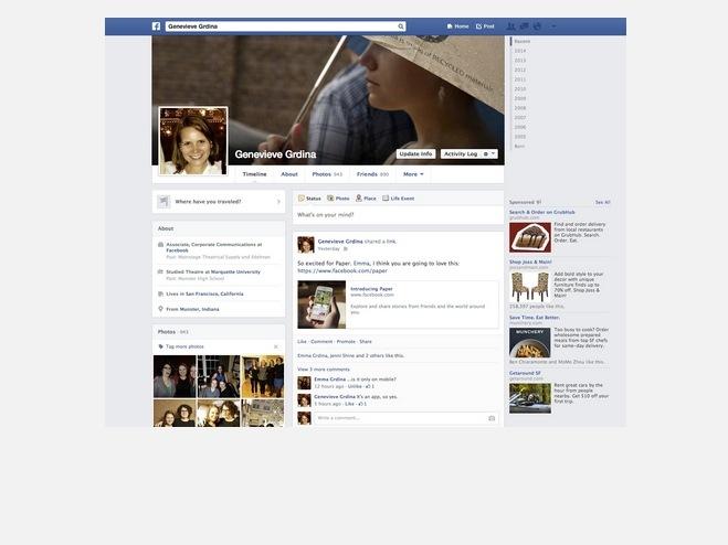 Facebook nel 2013 2014