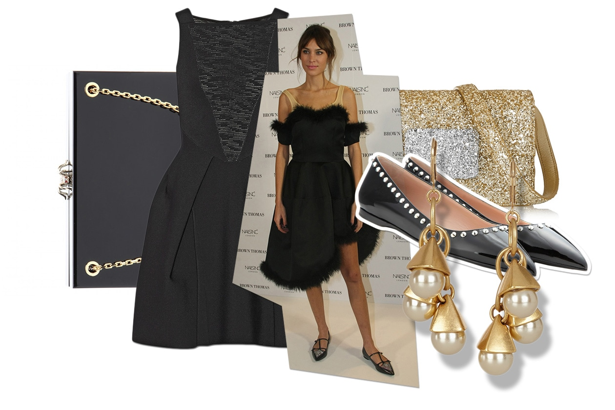 Fashion Get The Look Alexa Chung Black look 00 Cover collage