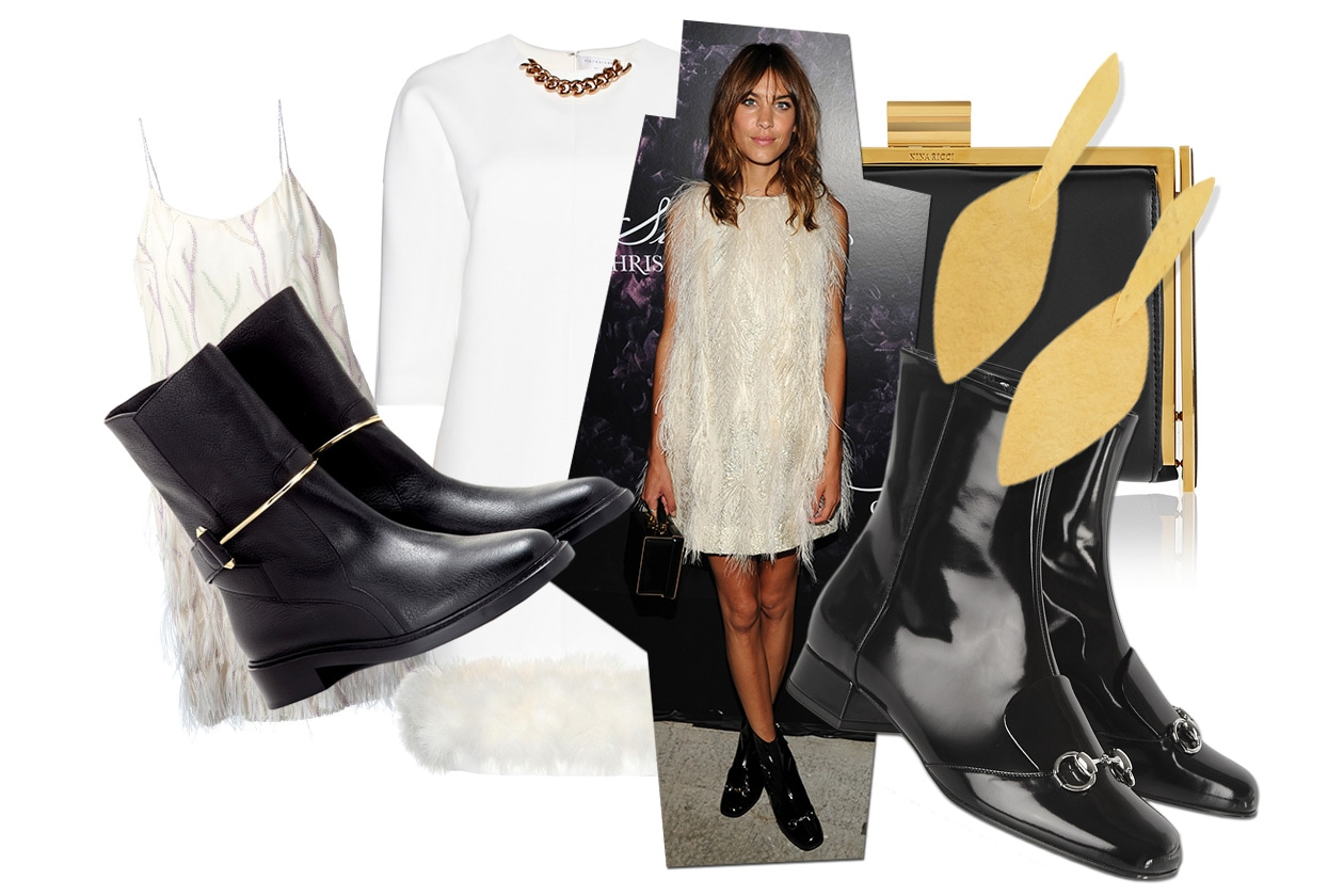 Fashion Get The Look Alexa Chung feather look 00 Cover collage
