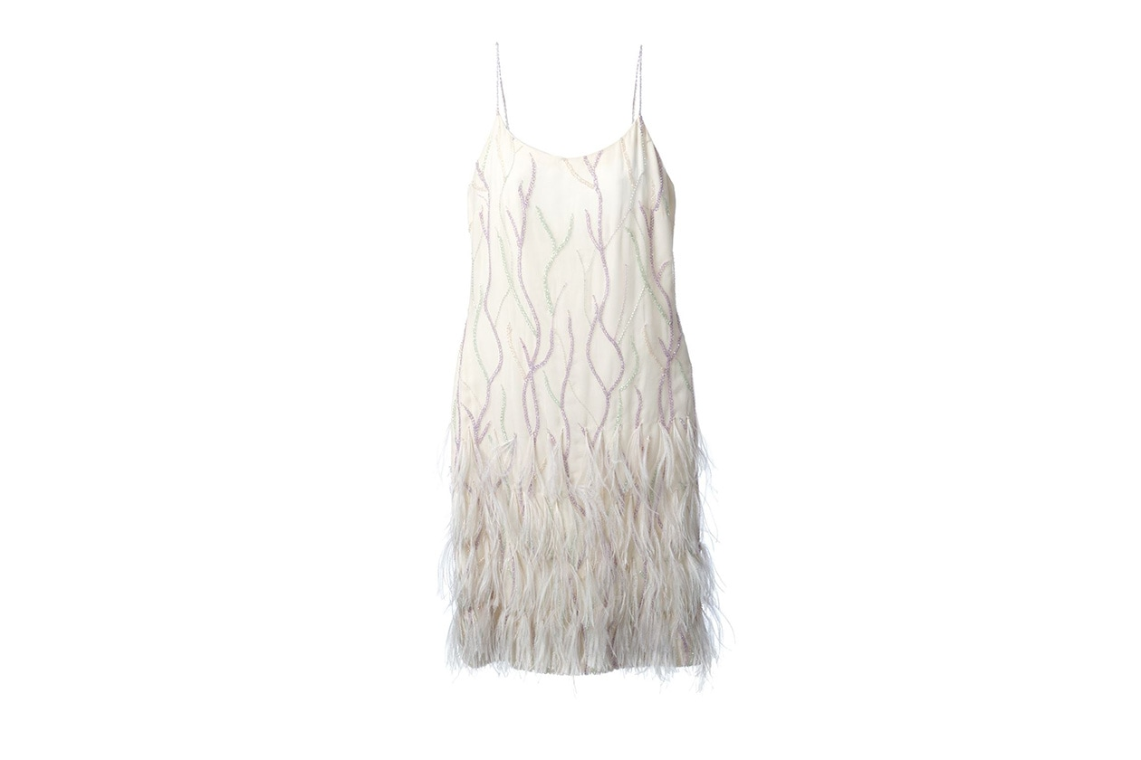 Fashion Get The Look Alexa Chung feather look jean louis