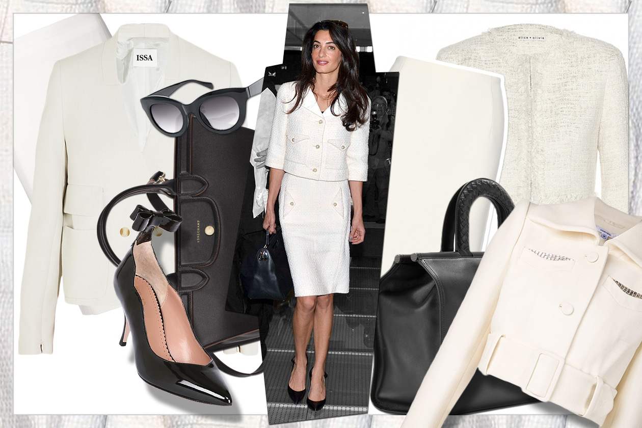 Fashion Get the look Amal alamuddin 00 Cover collage