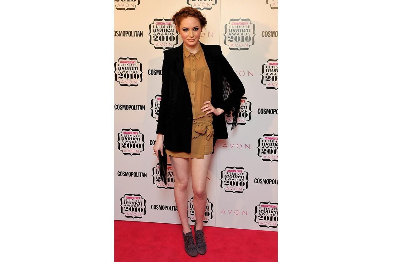 Fashion Paparazzo Karen Gillan Cosmopolitan Ultimate Women Of The Year