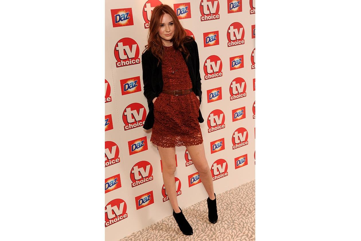 Fashion Paparazzo Karen Gillan TVChoice Awards 2010