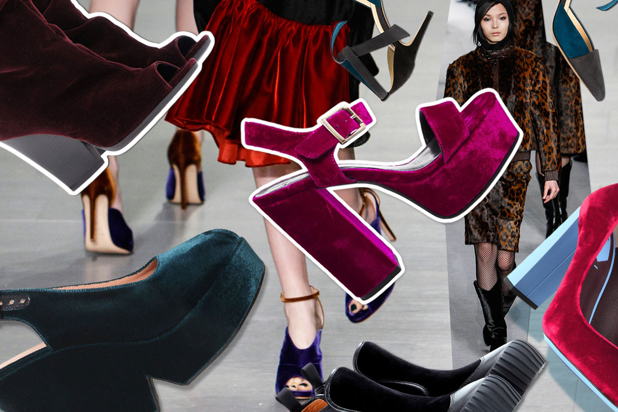 Fashion Velvet shoes 00 Cover collage