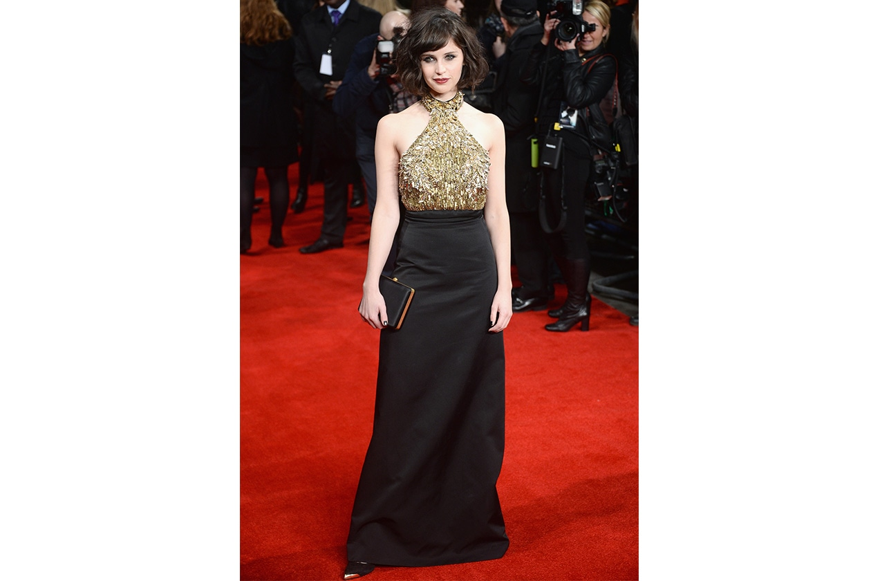 Fashion felicity jones alexander mcqueen