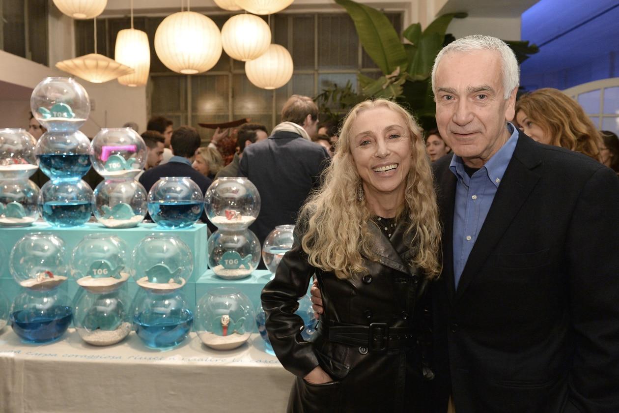 Franca Sozzani e Andrea Morante Ceo Pomellato