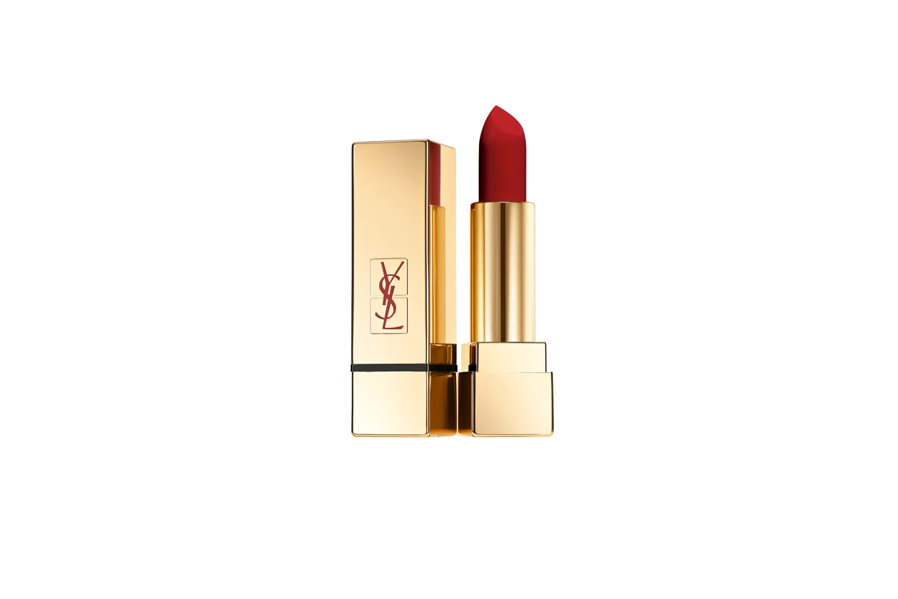 I ROSSETTI ROSSO SCURO: Yves Saint Laurent Rouge Pur Couture The Mats 209 Red Rythm