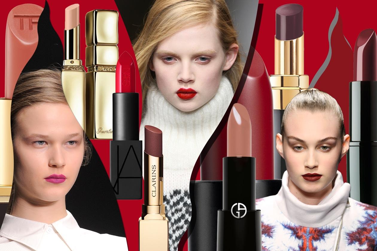 I nuovi rossetti del 2015: i colori di tendenza dalle sfilate