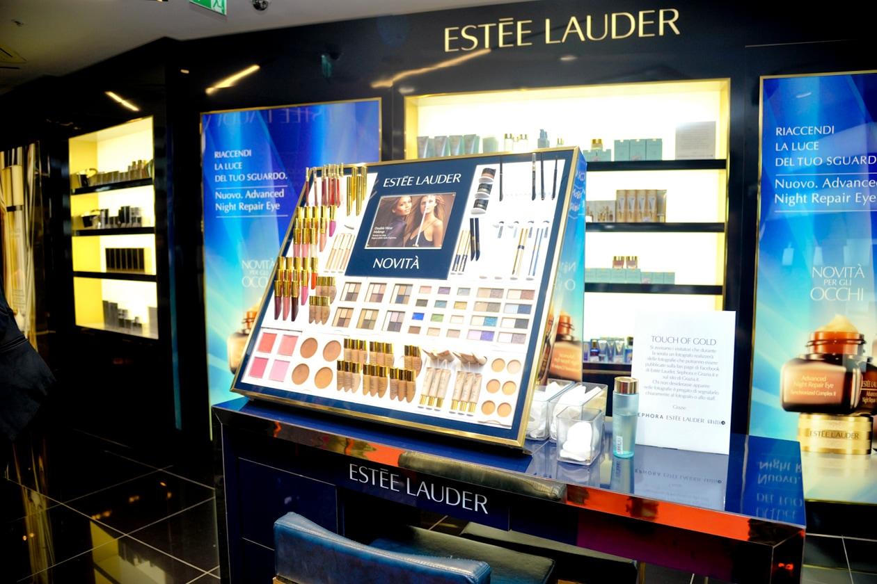 Il corner di Estée Lauder da Sephora