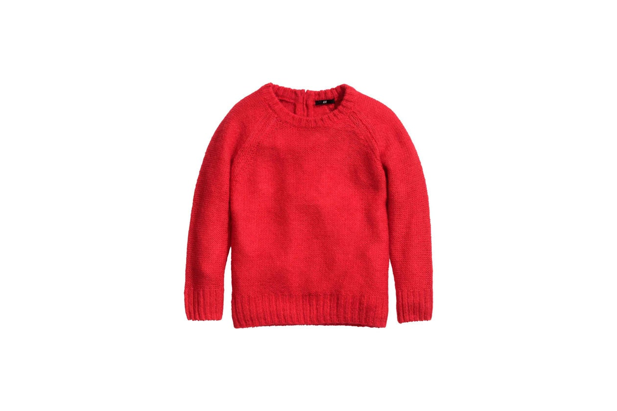 Il maglioncino rosso, H&M