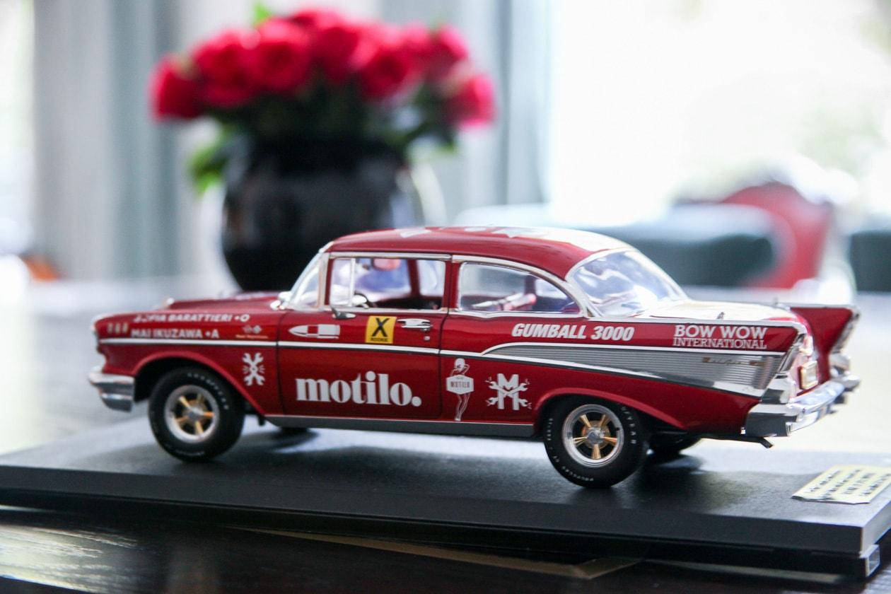 Il modellino dell'auto che ho usato per l'avventura del Coast to Coast in USA