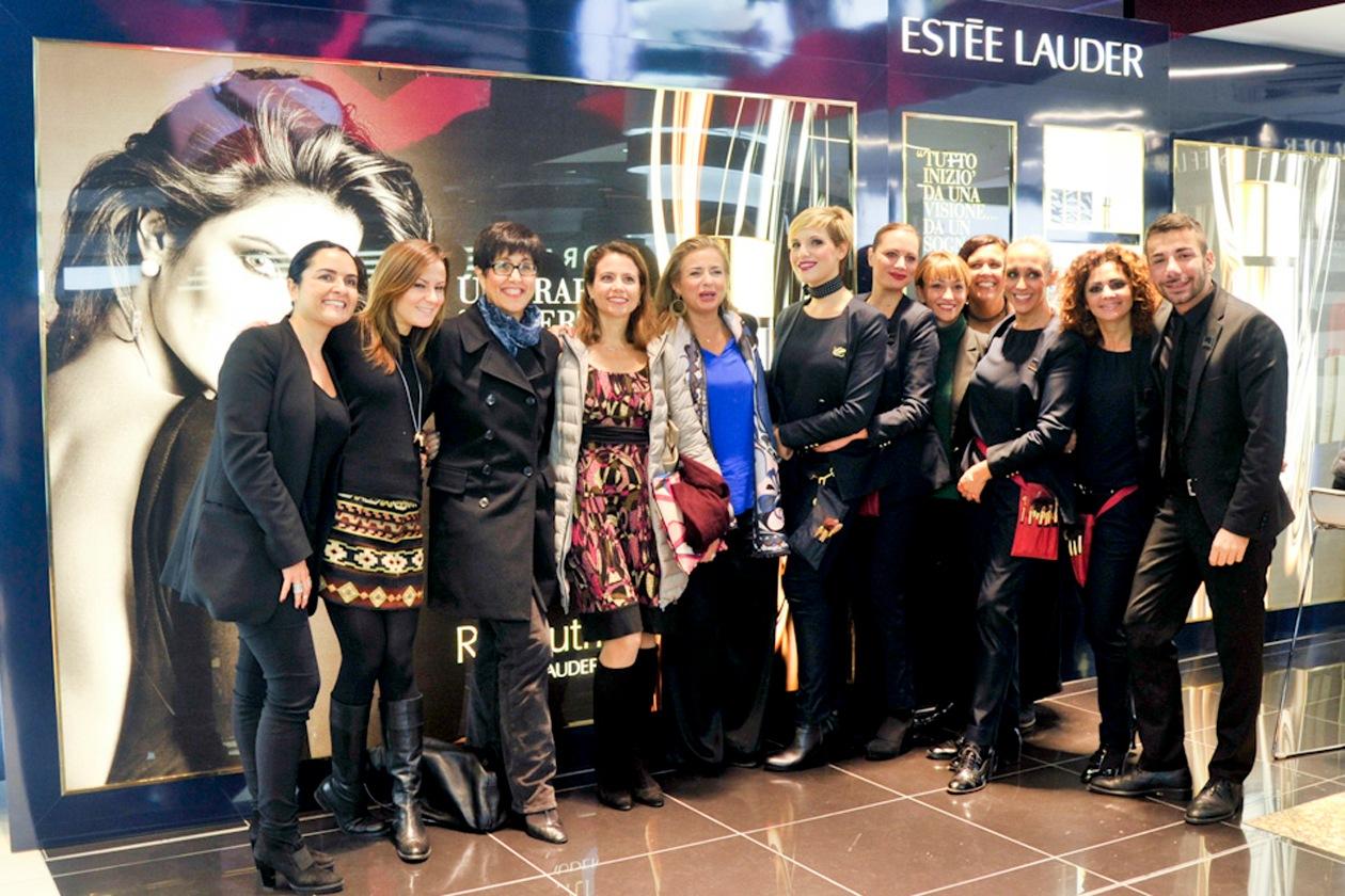 Il team beauty di Estée Lauder