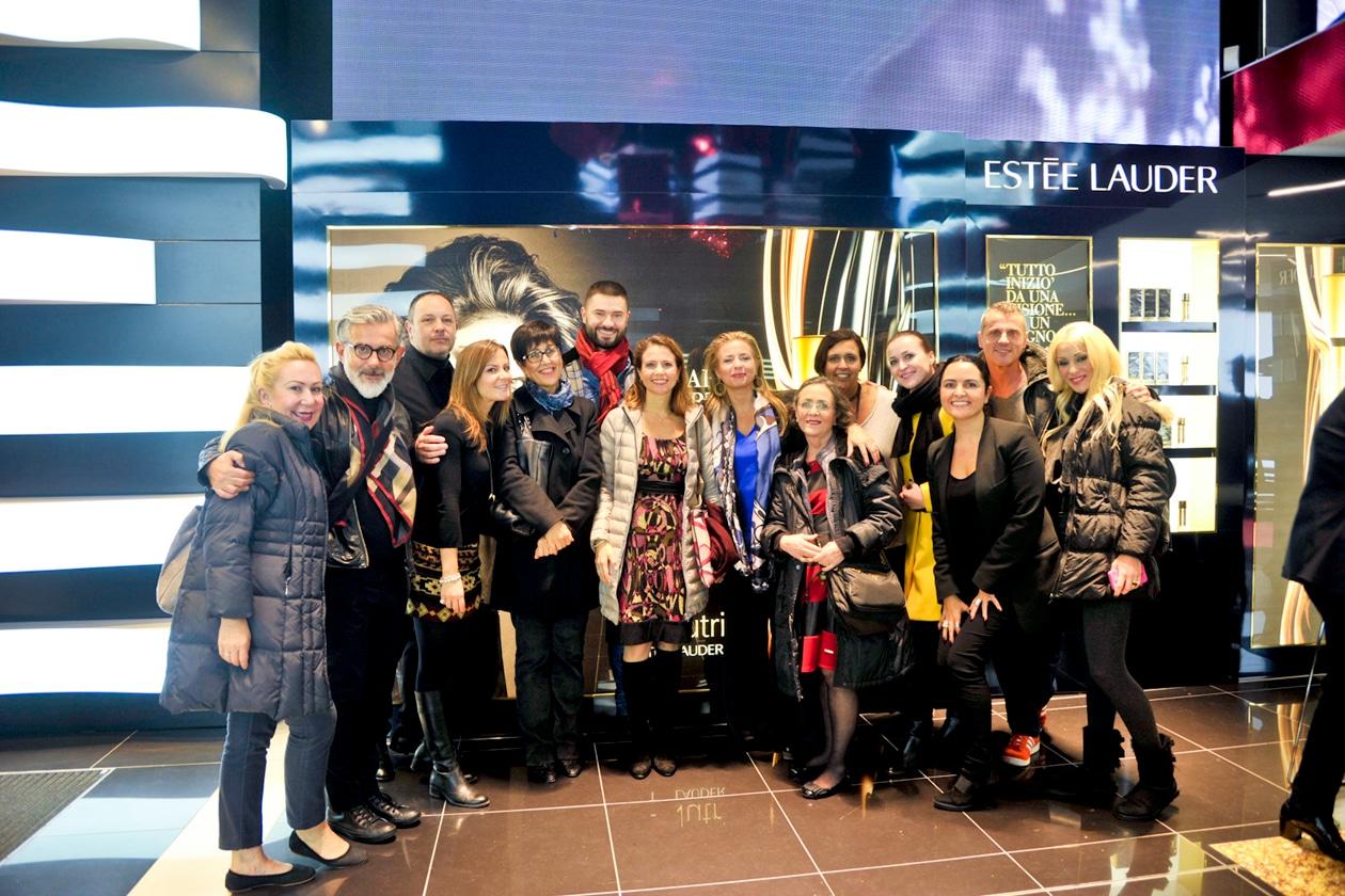 Il team di Estée Lauder