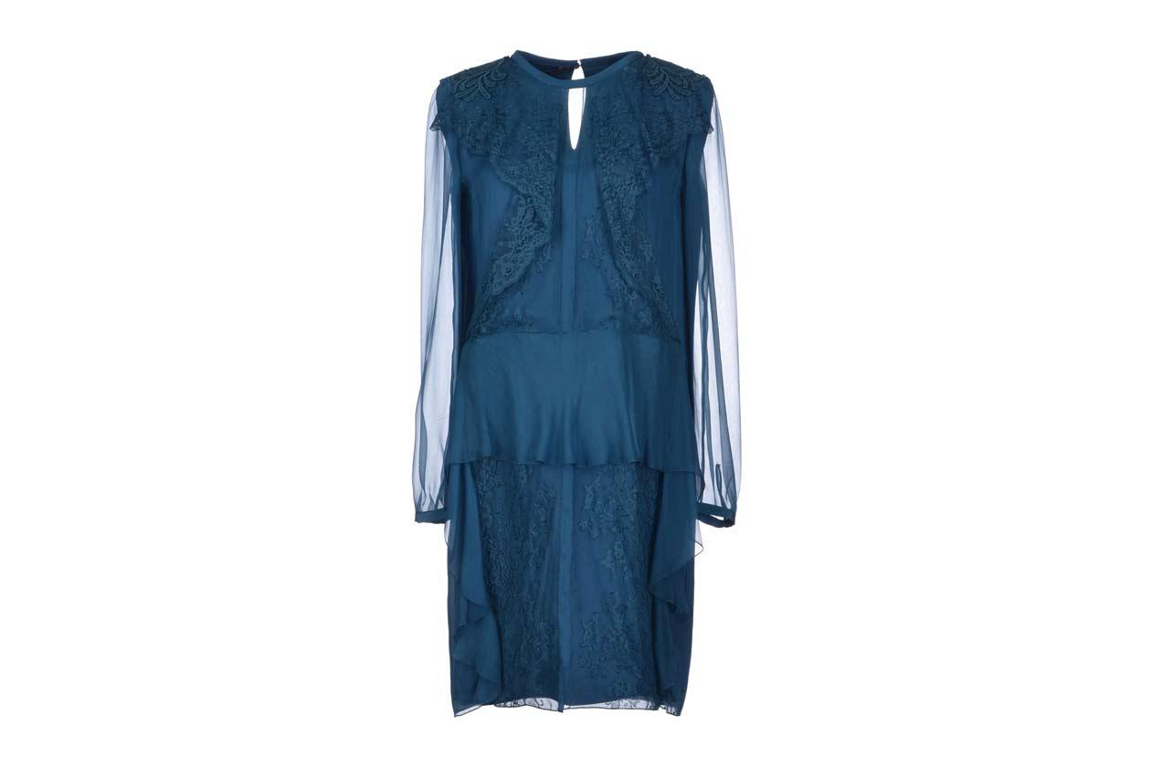Il vestito blu di Alberta Ferretti
