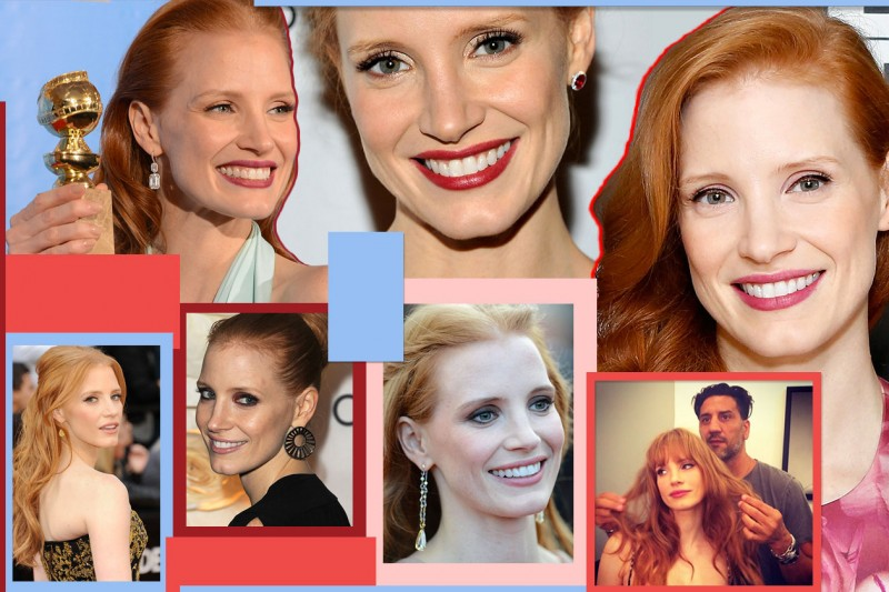 Jessica Chastain Beauty Look