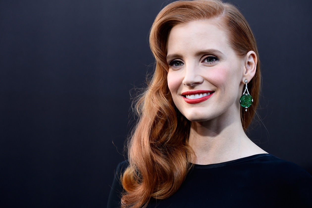 Jessica Chastain beauty look: incarnato ideale