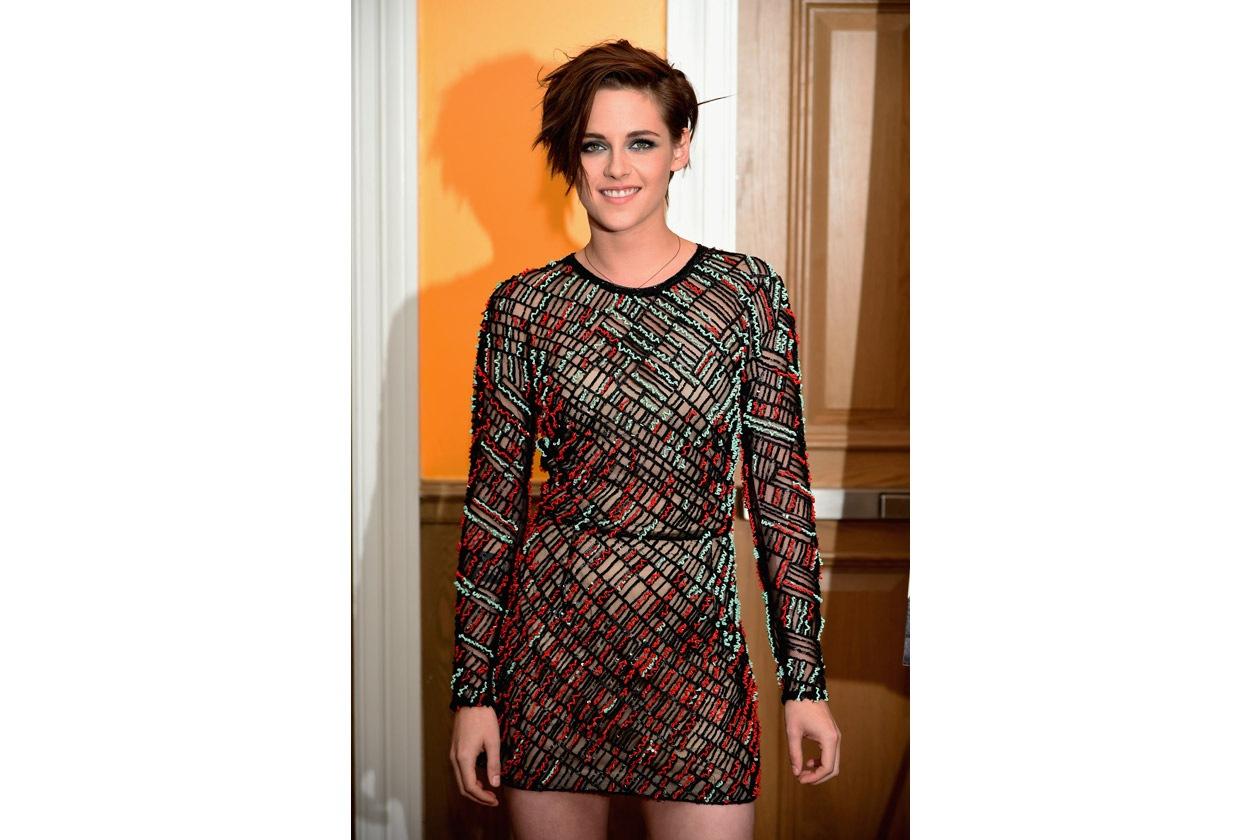 Kristen Stewart beauty look: focus sullo sguardo