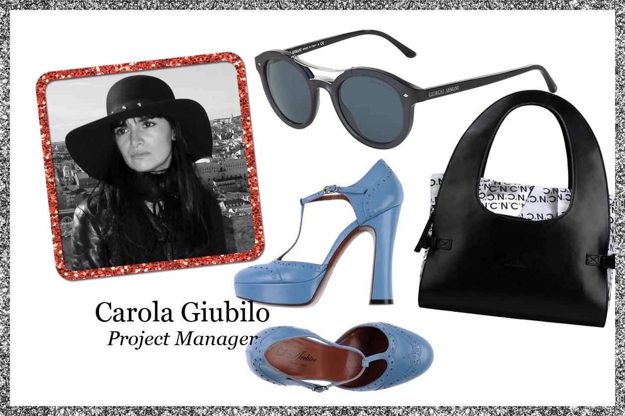 La wishlist di Carola Giubilo