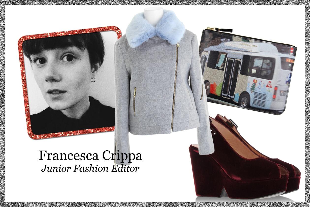 La wishlist di Francesca Crippa