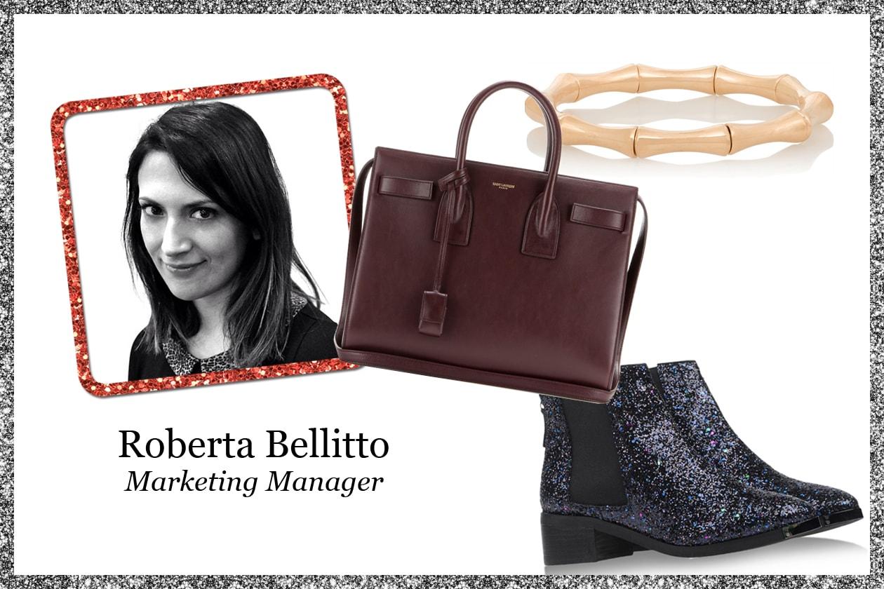 La wishlist di Roberta Bellitto