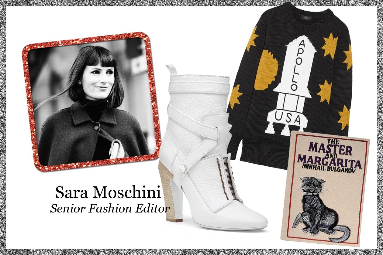 La wishlist di Sara Moschini