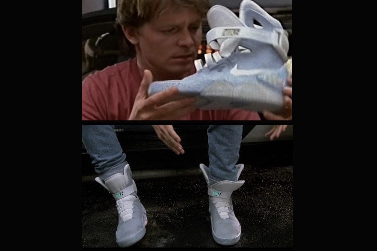 Le scarpe di Marty McFly