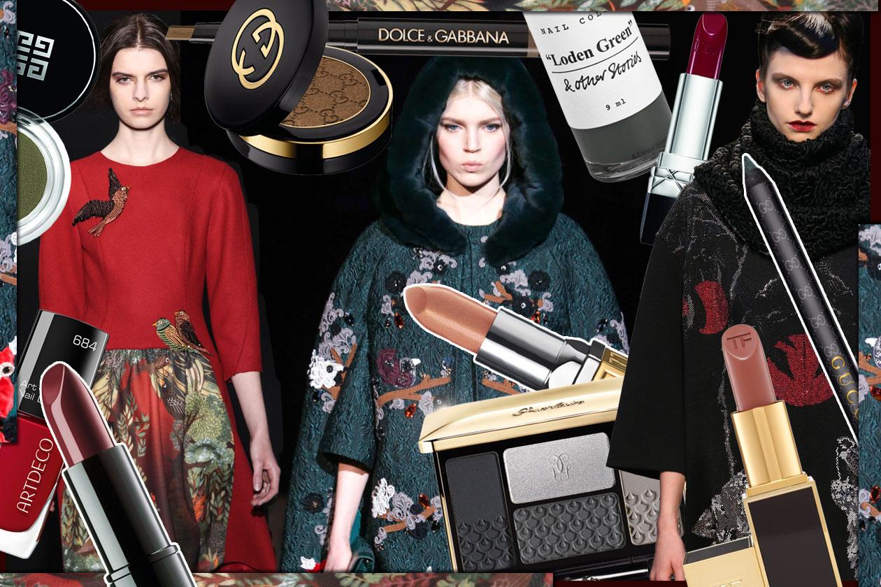 Make up da favola con il trucco nude e nei colori del bosco: gli abbinamenti beauty&fashion di Grazia.IT