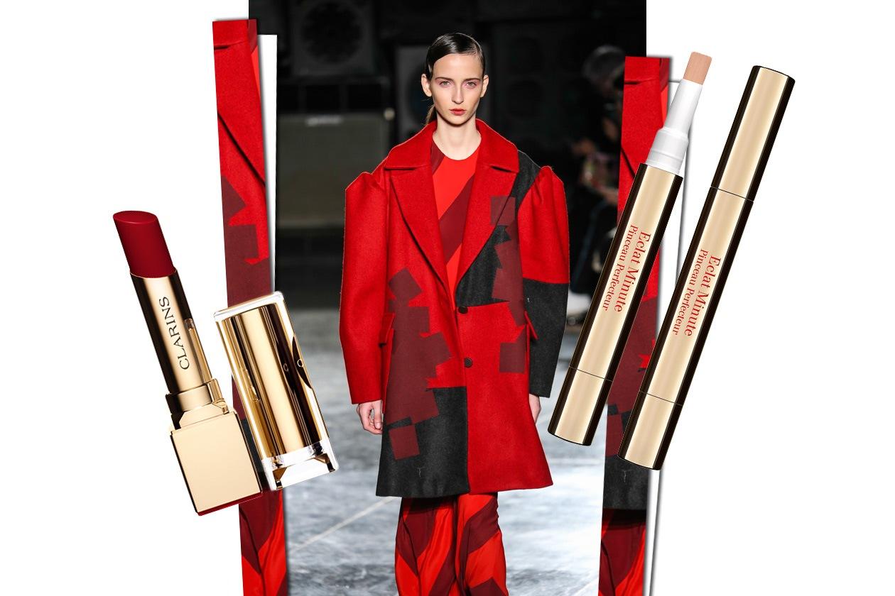 Mannish in red