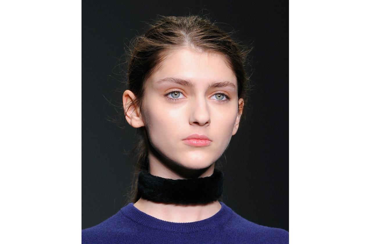 Marios Schwab: sheer beauty look