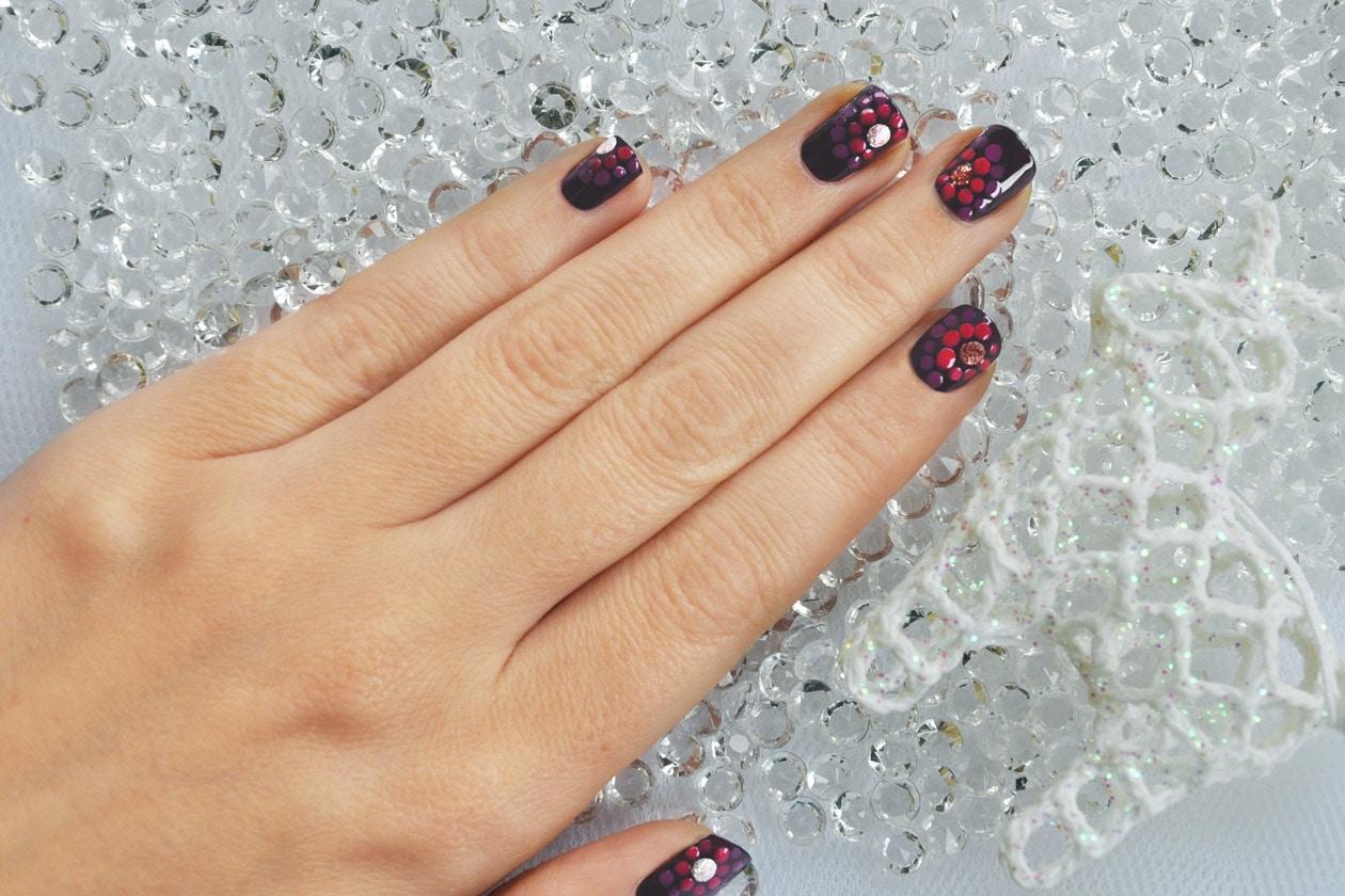 Nail Art delle Feste 2014-2015 – Fireworks nails