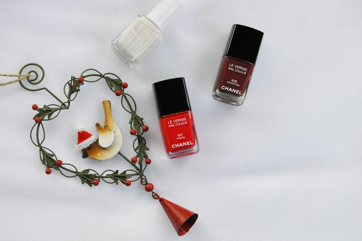 Nail Art delle Feste 2014-2015 – Let It Snow nail polish