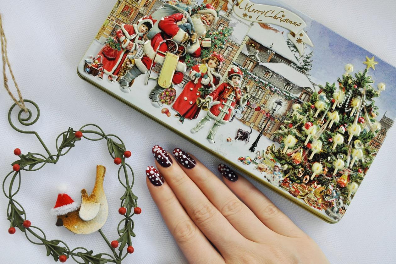 Nail Art delle Feste 2014-2015 – Let It Snow nails