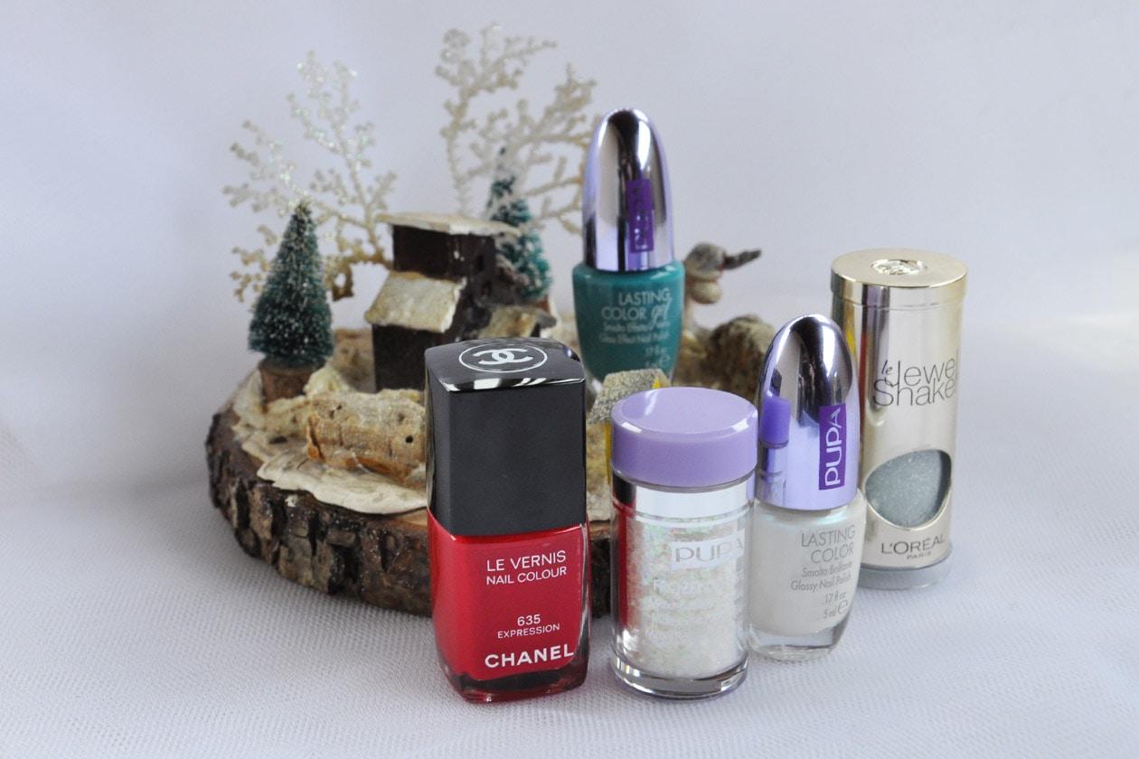 Nail Art delle Feste 2014-2015 – Winter Crystals nail polish