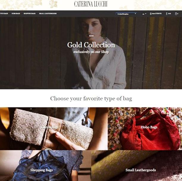 Online il nuovo e-commerce di Caterina Lucchi