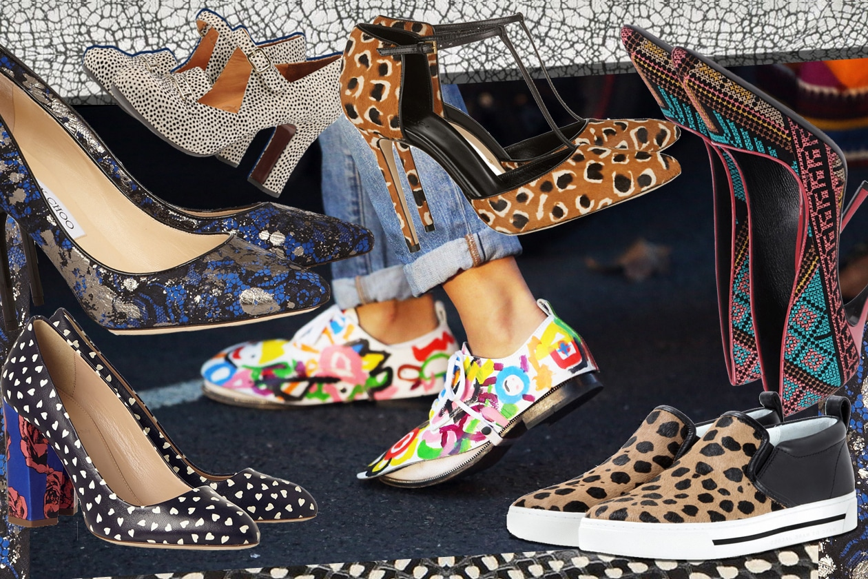 Pattern shoes!