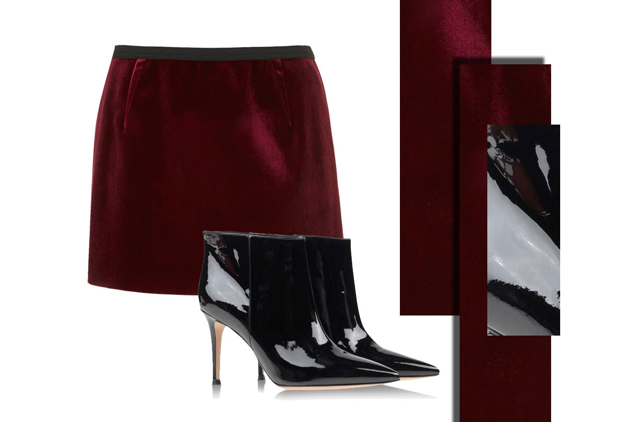 SKIRT TOPSHOP & SHOES GIANVITO ROSSI