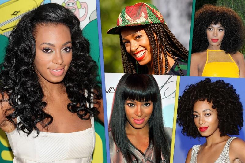 Solange Knowles ama il capello riccio in tutte le sue declinazioni. I migliori hair look della sorella di Beyoncè secondo Grazia.IT