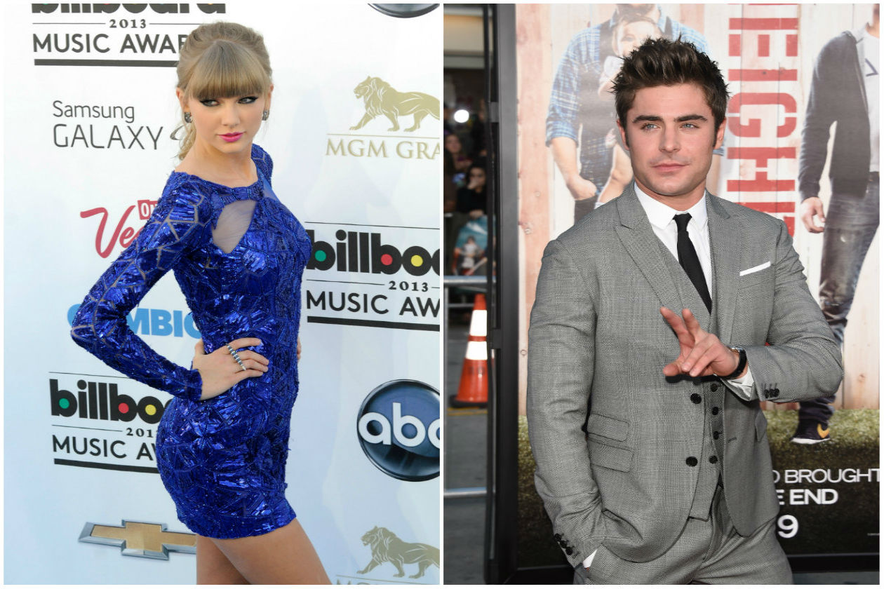 Taylor Swift e Zac Efron
