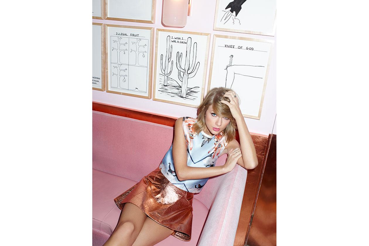 Taylor Swift cover girl di ASOS Magazine