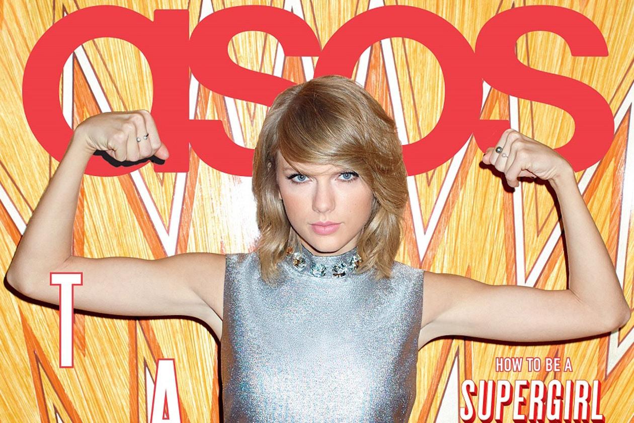 Taylor Swift cover girl di gennaio per ASOS Magazine