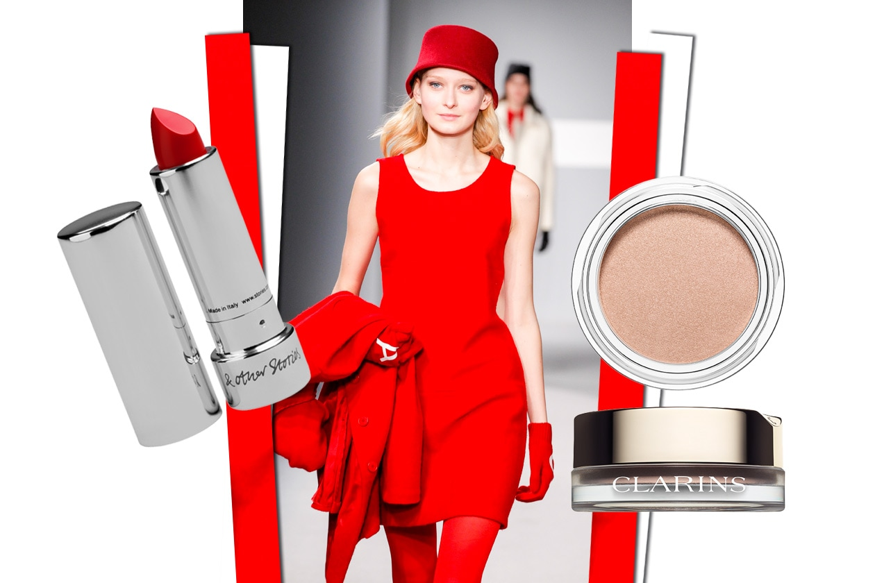 Total look in red